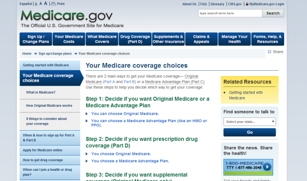 Medicare official site 072814